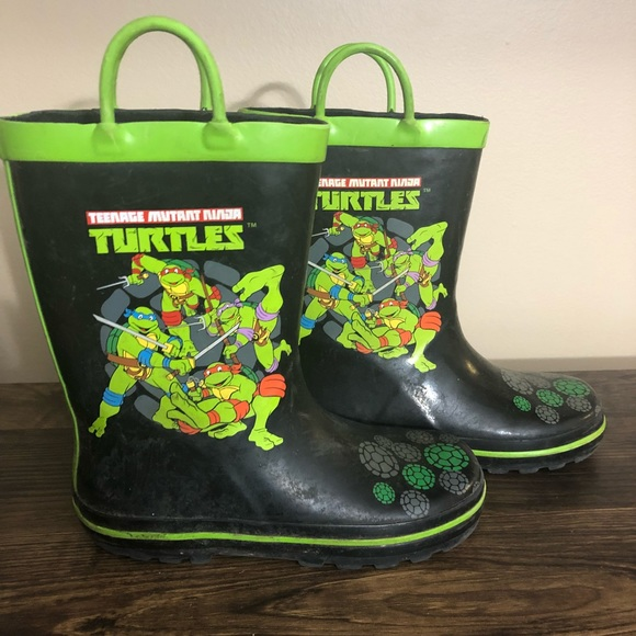 teenage mutant ninja turtle Other - Lot of 2 —— Kid boys 13 / 1 TMNT Rain Boots